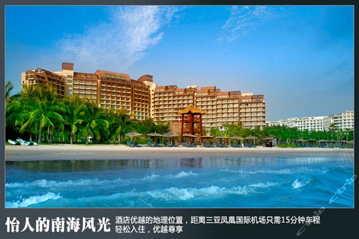 三亚湾海居铂尔曼度假酒店(花园海景房)图片/照片大全
