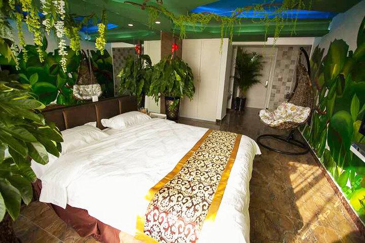 长春a座8层主题宾馆—热带雨林