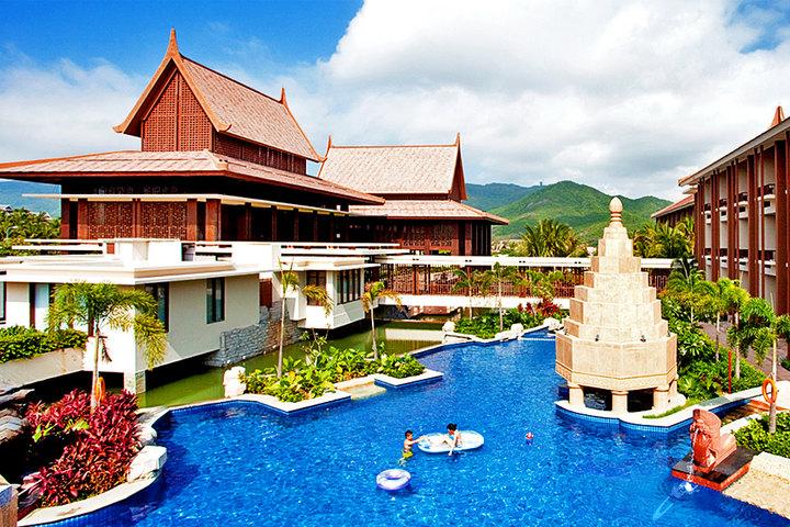三亚亚龙湾铂尔曼度假酒店外观