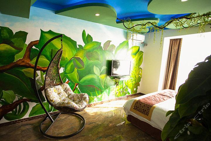 长春a座8层主题宾馆(热带雨林-周末)