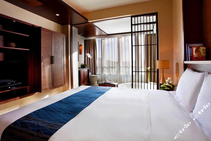三亚半山半岛度假酒店-全海景双卧套房