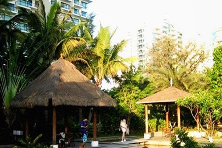 三亚海岛名家海景度假公寓—小区景观