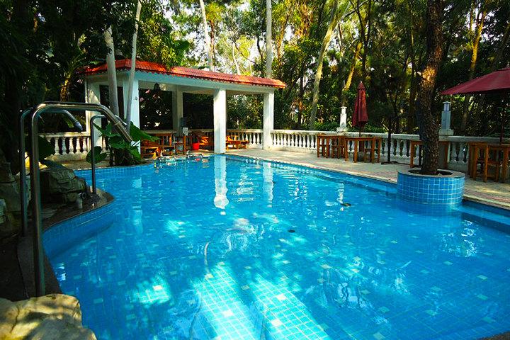 清遠泳池連通別墅
