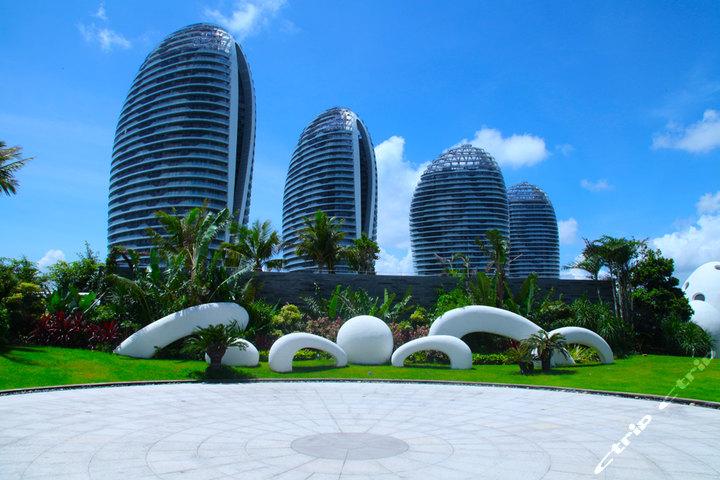 三亚凤凰岛空中花园(全海景度假大床房)
