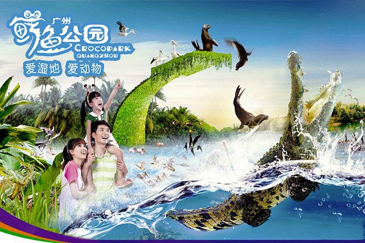 广州长隆野生动物园(鳄鱼
