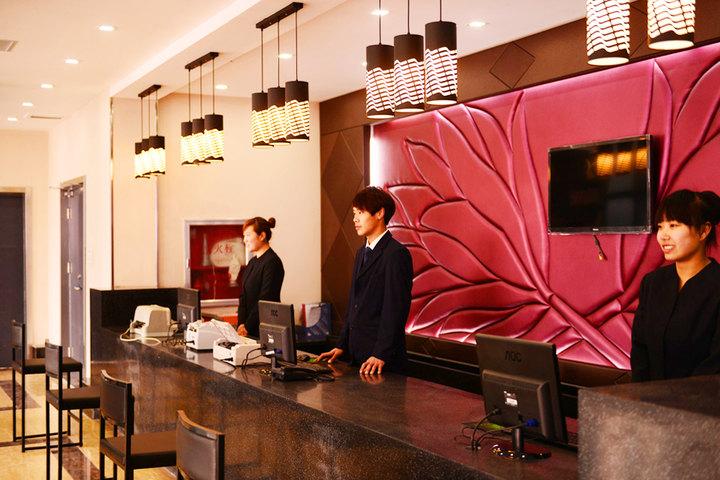 郑州伊顿精品酒店—前台