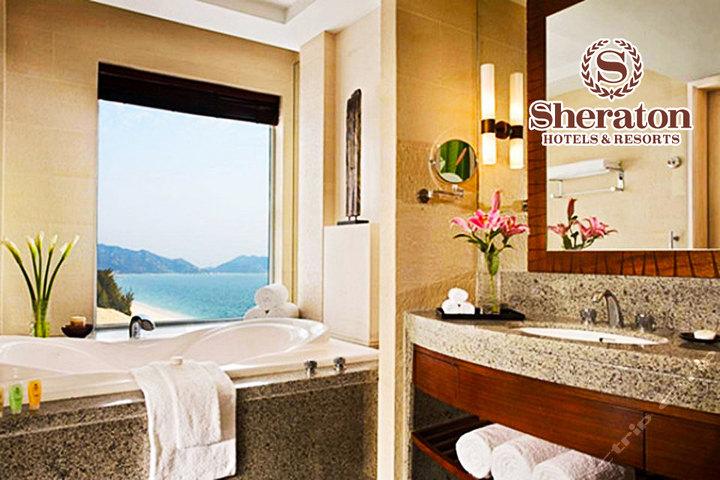 惠州金海湾喜来登度假酒店—客房冲凉房
