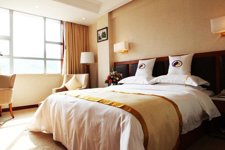 张家界万泰国际酒店豪华单间1晚 2份早餐 免费宽带/wifi 热水洗浴!