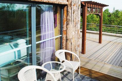 北京润清园温泉度假村—欧式联排别墅小院