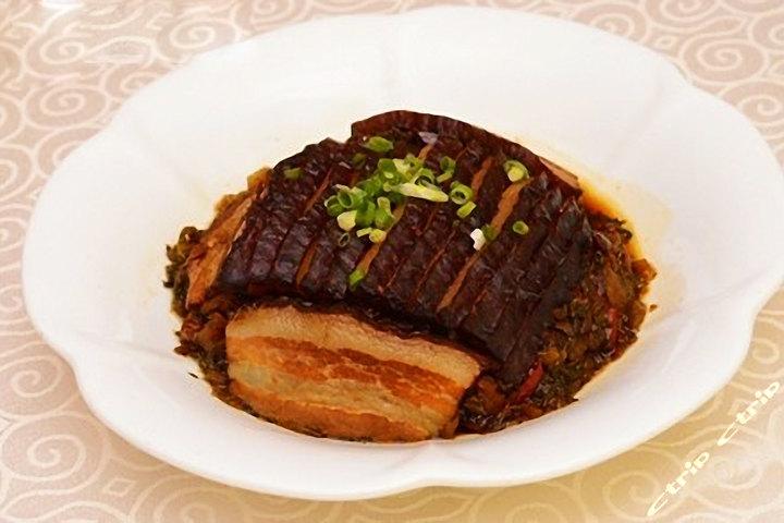 宜昌峡州南湖宾馆—梅干菜扣肉