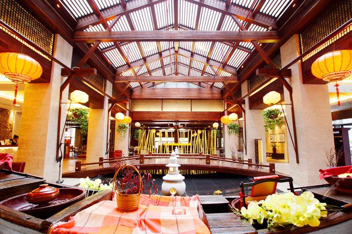 苏州书香世家树山温泉度假酒店—大堂