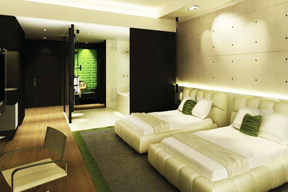 北京益田影人花园酒店-高级客房