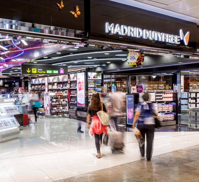 马德里免税 (马德里巴拉哈斯机场T1 非申根区)