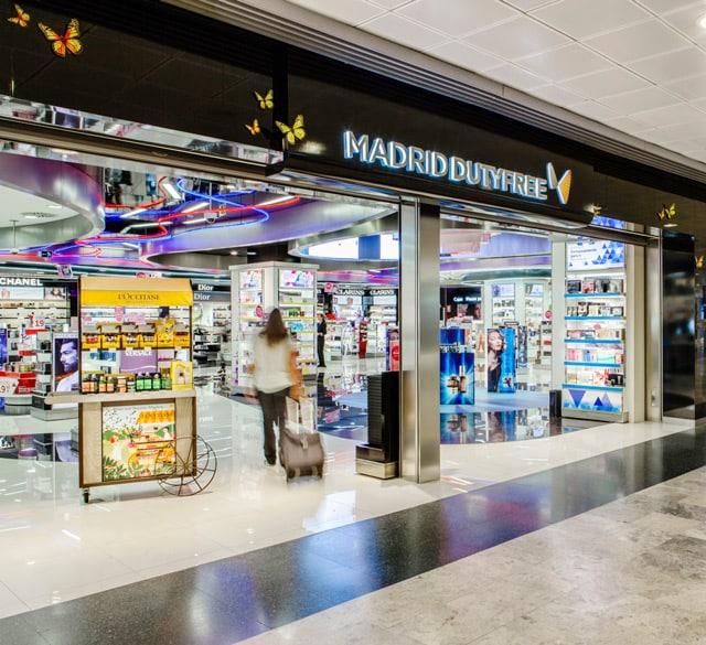 马德里免税 (马德里巴拉哈斯机场T1 非申根区美妆护肤品店)