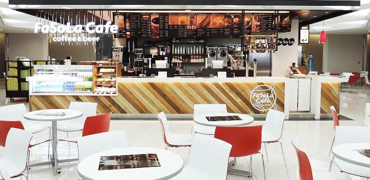 Fa-So-La Cafe coffee & beer 第5卫星楼(第1候机楼 出境审查后区域)