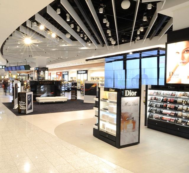 杜福睿主营免税店(米兰马尔彭萨国际机场T1)