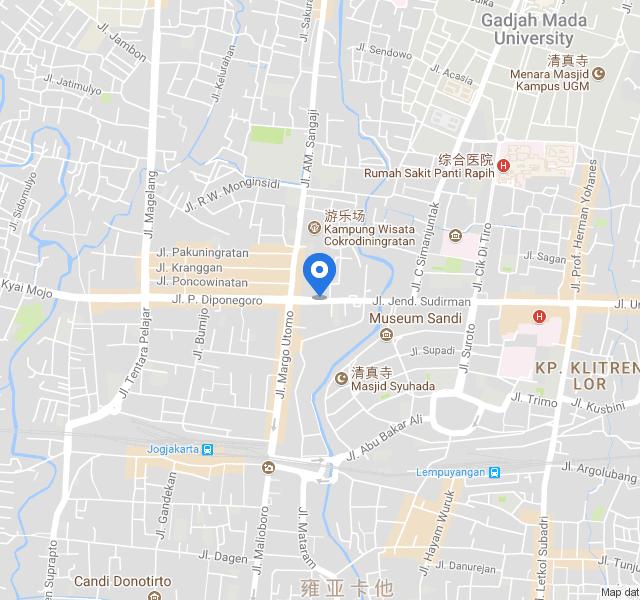 日惹地图中文版