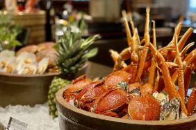 上海世博洲际酒店咖啡厅1188夏日缤纷周末自助晚餐