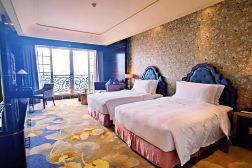 广州星河湾酒店 商务园景双床房 1晚 + 两大一小自助早餐 + 两大一小自助晚餐 + 双人城堡下午茶