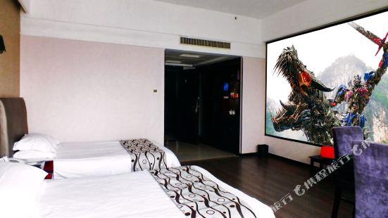 金華貝蝸3D巨幕騰訊影院房公寓(32號店)