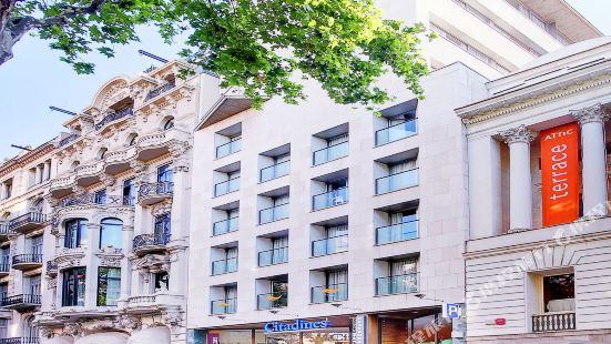 巴塞隆拿馨樂庭蘭布拉斯服務公寓
