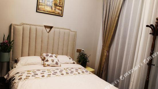 杭州窗外的花兒特別美度假別墅