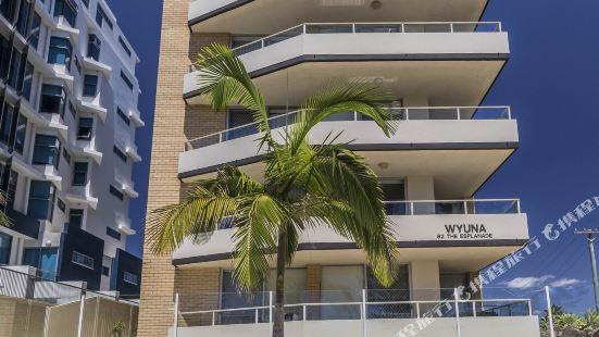 Wyuna Beachfront Holiday Apartments Gold Coast