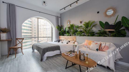 Hope You Like Seaview Apartment (Qingdao Wusi Square)