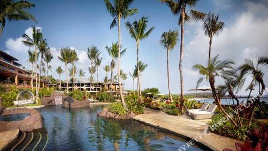 夏威夷拉奈島曼內雷灣四季度假酒店