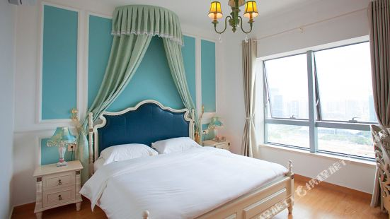 35 art apartment hotel, central huamao town, huizhou