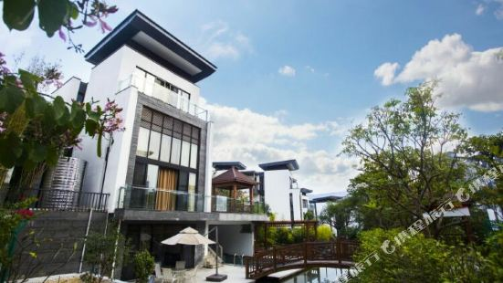 Guangzhou Conghua Hot Spring Bright Moon Mountain Stream Luxury Villa