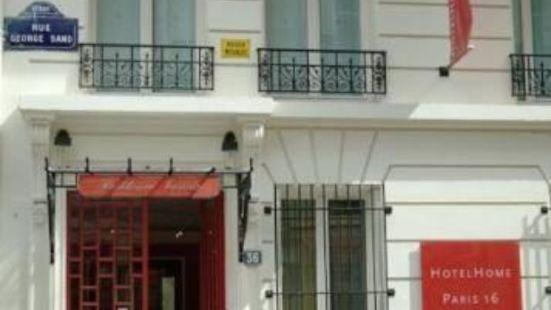 家庭巴黎16酒店
