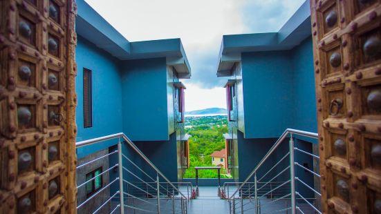180 Degree E1 Seaview Net Red Infinity Pool Three-Bedroom Mid-level Villa E1