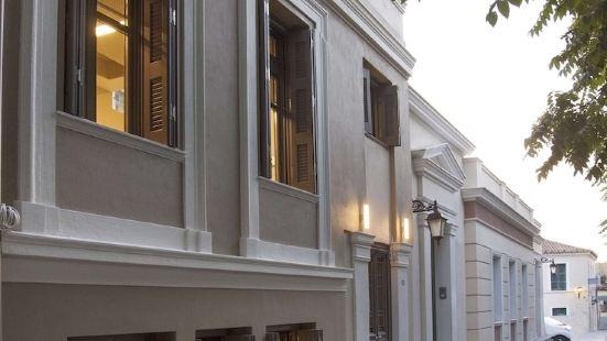 GHH特例博頓普拉卡別墅 |在雅典衞城的周邊