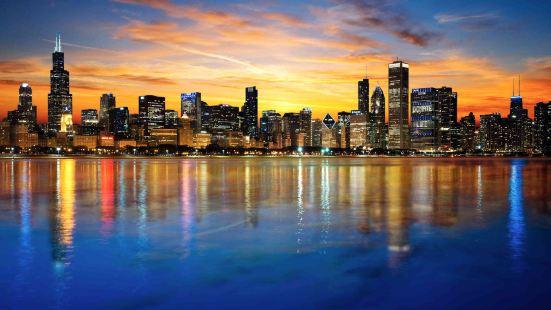 芝加哥市中心/北河萬怡酒店