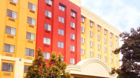 奧爾巴尼萬豪唐普雷斯酒店/醫療中心