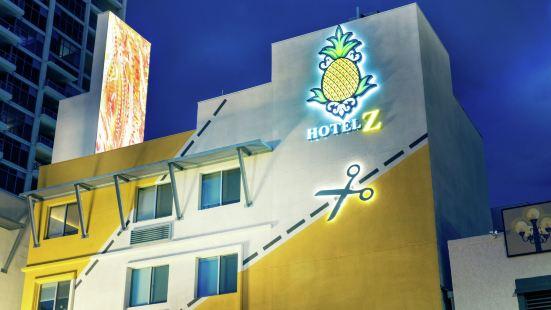 聖迭戈格斯燈住宿菠蘿 Z 酒店