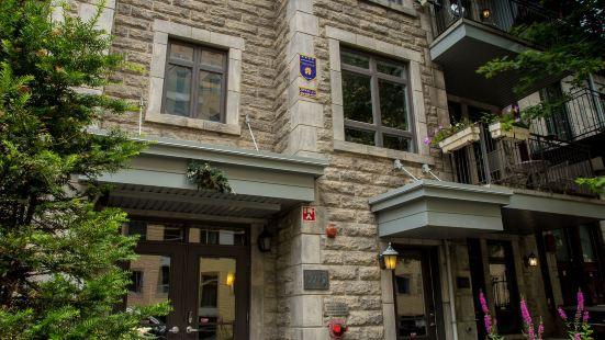 蒙特利爾公寓酒店 - 聖於爾班陽台
