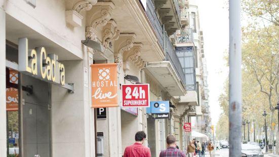 巴塞隆拿居住2號旅館