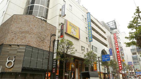新宿區役所前膠囊酒店