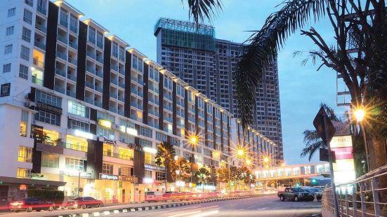 富人住宅区 PLAZA DAMAS 靠近马来西亚苏丹官方王宫