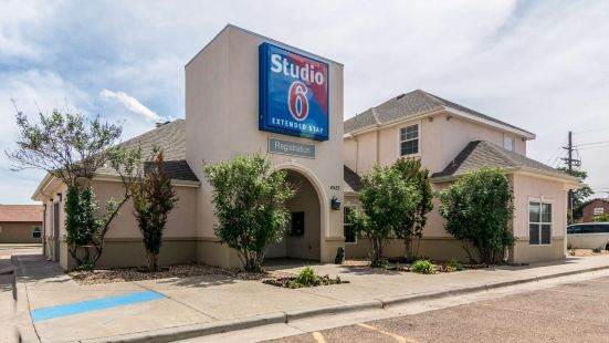 Studio 6 Lubbock, TX - Medical Center