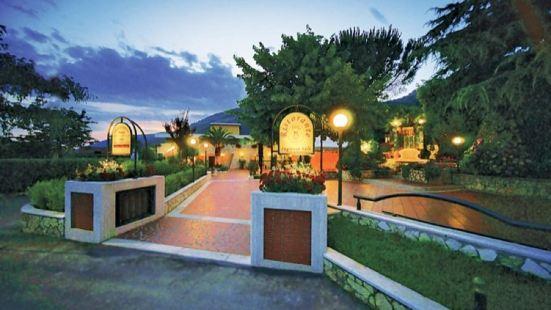 黃色公園餐廳酒店