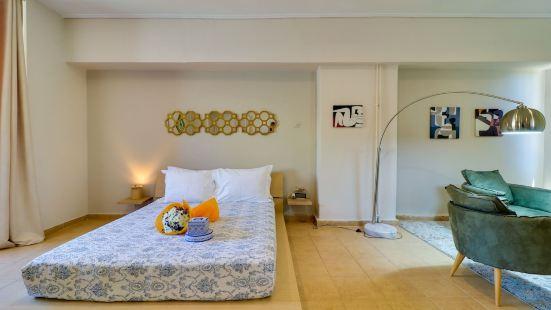 憲法廣場艾爾穆衞城景觀閣樓 - 生活空間 gr 酒店