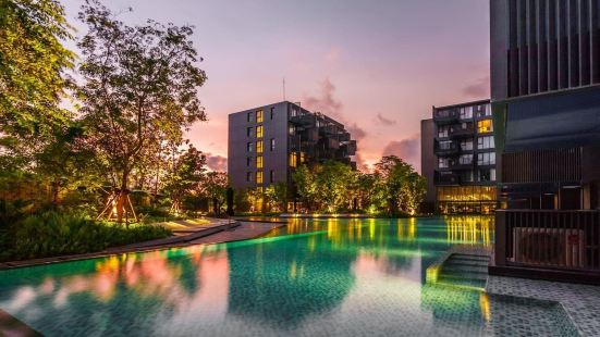 34L泰國布吉芭東海灘一室公寓泳池健身房