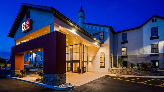 大大急流城西貝斯特韋斯特優質大城堡套房酒店
