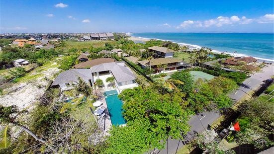 巴厘岛仓古4卧园景别墅私人泳池含管家厨师
