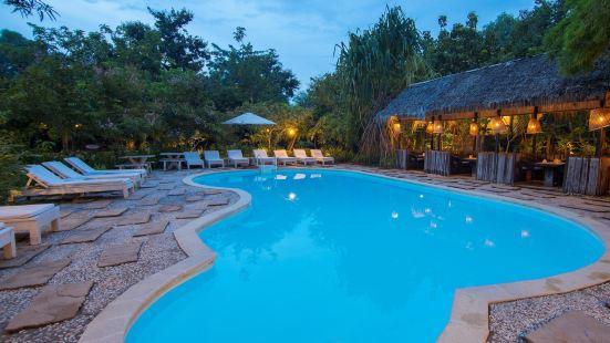 暹粒棕櫚村莊温泉度假酒店