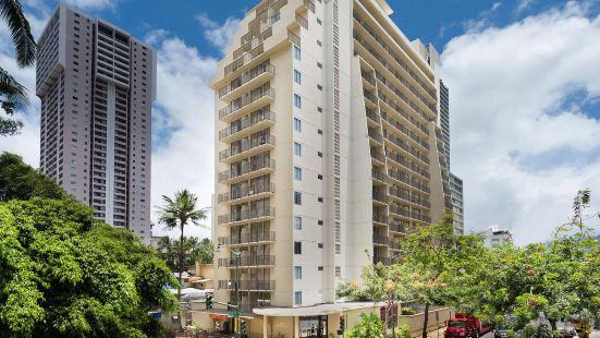 阿奎歐西雅威基基開放式公寓套房酒店