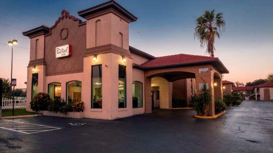 南奧蘭多-佛羅里達購物中心紅屋頂客棧汽車旅館